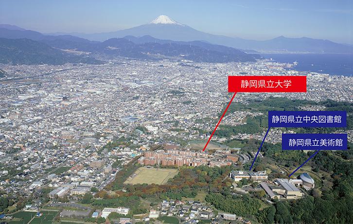 草薙キャンパス俯瞰図