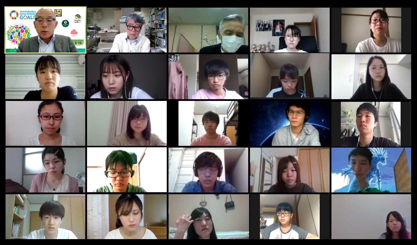 竹田氏による第3回オンライン講義