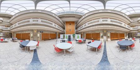 カレッジホール360°写真