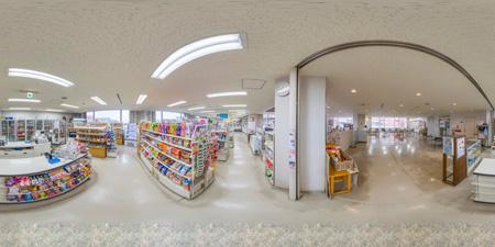 売店360°写真