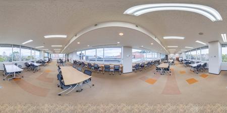 図書館LCフロア 360°写真